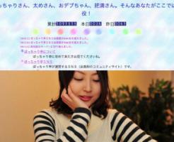 ぽちゃ専サイト ぽっちゃり亭の評価