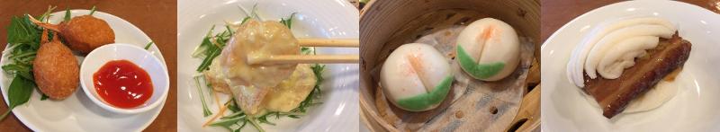 ゼニカルを服用して横浜大飯店で食べる