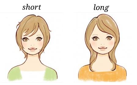 丸顔の髪型