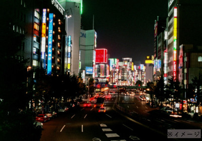 新宿 夜の街