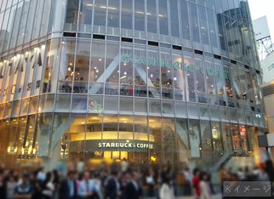 渋谷のスターバックスコーヒー