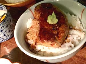 十番右京 フォアグラご飯