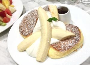 幸せのパンケーキ バナナ